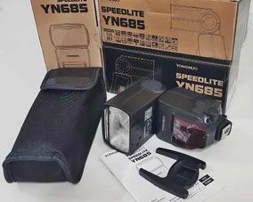 Flash Profissional Yongnuo Yn685 Cameras Canon Funcao Ttl