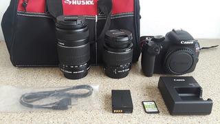 Equipo De Camara Canon Eos Rebel T6