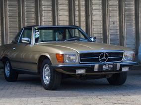 Mercedes Benz Sl 350 Conversivel Ano 1972 Placa Preta