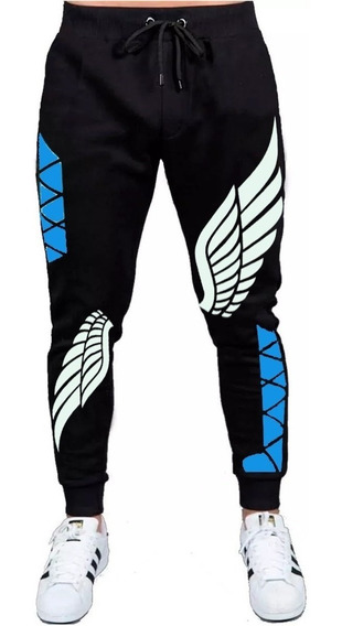 Calça Free Fire Angelical Moletom Slin Adulto Estilo Game T