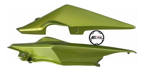 Tapa Cola Sillín Tapas Laterales Para Honda Cb110 Par