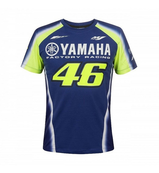 Remera Vr46 Yamaha Vr46 Blue2018 Talle M Original Vr46 Vr46