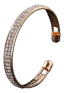 Pulseira Bracelete Mulher Ouro 18k Banhada Joia Presente 148
