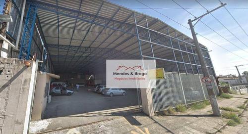 Imagem 1 de 10 de Vila Galvão - Galpão Para Alugar Por R$ 15.000/mês - Guarulhos/sp - Ga0017