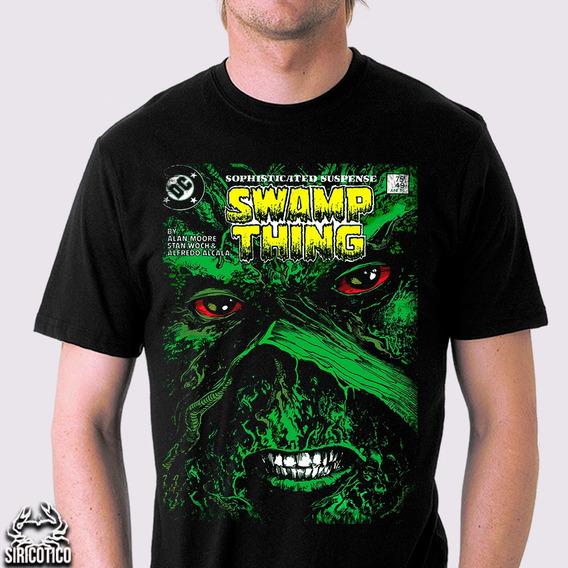 Camiseta Swamp Thing ,alan Moore,monstro Do Pântano, Vertigo