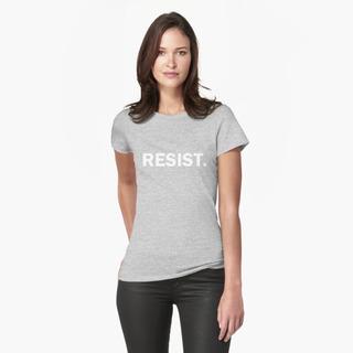 Camiseta Camisa Resista Ao Autoritarismo A Vida Dificuldade