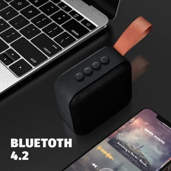 Caixa De Som Super Compacta Bluetooth Da Marca Exbom! Leve, Bonita E Muito Forte Com Entrada Micro Sd