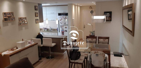 Apartamento Com 2 Dormitórios À Venda, 65 M² Por R$ 388.000,00 - Vila América - Santo André/sp - Ap12307