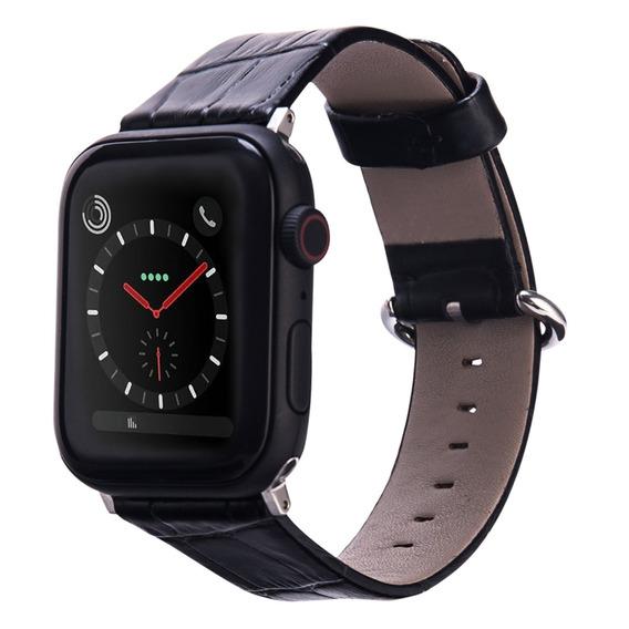 Correa De Piel Genuina Compatible Con Apple Iwatch De 38 Y 42mm / Correa Para Smart Watch