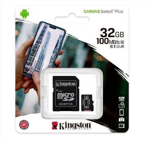 Memoria Micro Sd 32gb Clase 10 Kingston Isc