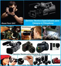 Reparación , Camaras , Filmadoras, Lentes, Servicio Tecnico