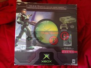 Microsoft Xbox Clásica Halo + Halo 2 Ce + 3 Controles