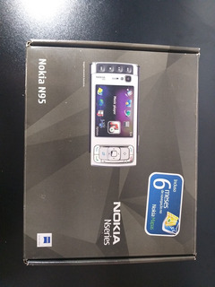 Nokia N95 Impecável , Completo , Item Para Colecionadores