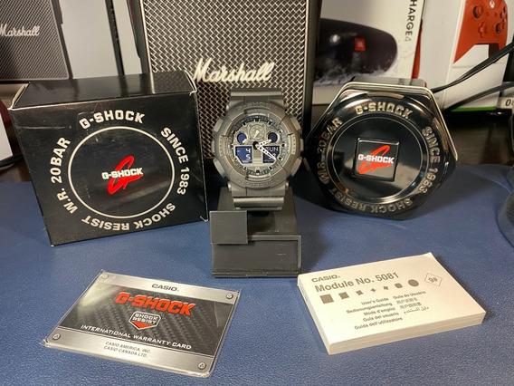 Reloj Casio G-shock Ga-100 Nuevo Full Set