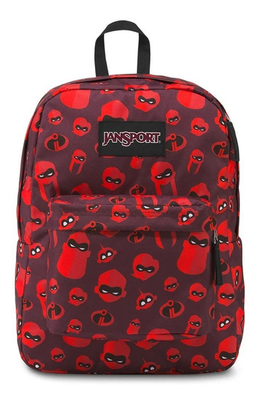 Mochila jansport superbreak Bordo Increibles 2