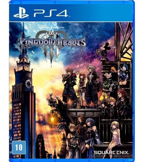 Ps4 Kingdom Hearts Iii 3 Mídia Física Lacrado