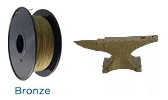 Filamento Impressora 3d Pla Metal 38% 500gr #3d Impressao