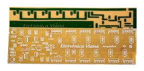 Placa Para Montar Amplificador 1000w Rms 2sc5200/ 2sa1943
