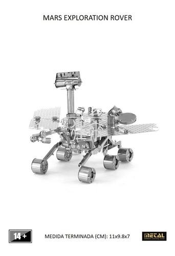 Espacial Maqueta Metalicas P/armar Decoracion Regalos