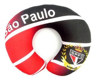 Almofada Pescoço Viagem Travesseiro São Paulo Presentes Spfc