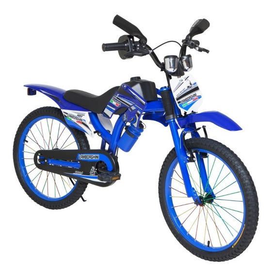 Bicicleta Motocross Rodado 20 @ Mca 7113