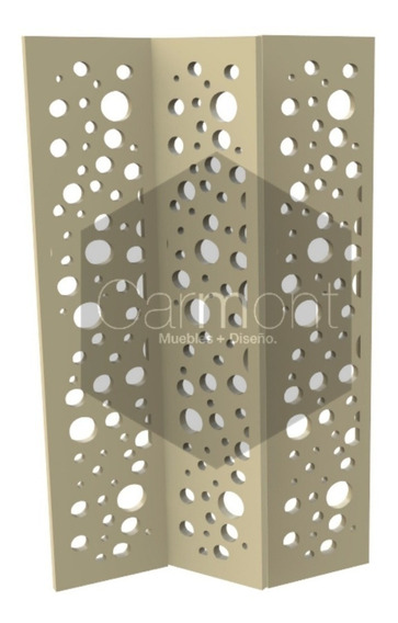 Panel Decorativo Biombo Separadores Calado Divisor 1.8x0.4