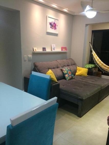 Apartamento Com 2 Dormitórios Para Alugar, 62 M² Por R$ 3.000/mês - Marapé - Santos/sp - Ap7974