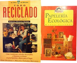 Utilisima 2 Libros Reciclado Mj Roldan Y Papeleria Ecologica
