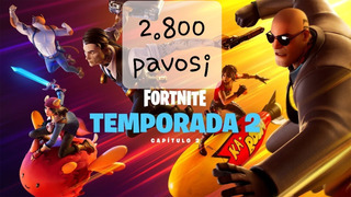 Fortnite 2800 Pavos Pc/xbox/ps4/nintendo Instante Las 24hs