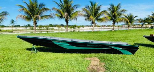 Embarcação De Alumínio Calaça Mod Flash Bass 550 De 5,5 M