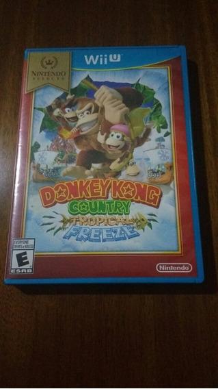 Donkey Kong Country Tropical Freeze Midia Fisica Wii U