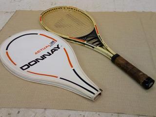 Raqueta Donnay Actual 35 Midsize+ Con Estuche