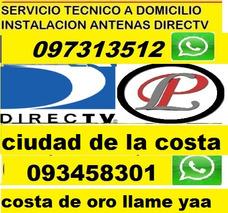 Instalaciones Antena Kit Directv Prepago Tecnico Instalador