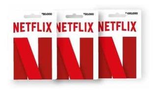 Tarjeta Regalo Netflix/30 Día/4p