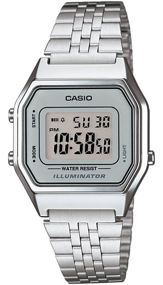 Relógio Casio La680wa-7df Digital Original 12 Meses Garantia