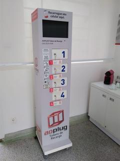 Totem Recarga Celular Aoplug - Promoção Só Retirada
