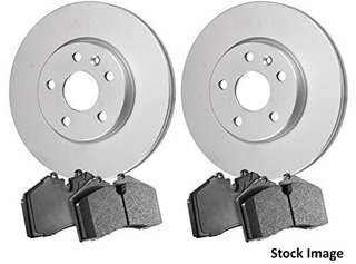2012 For Chrysler Town & Country Rear Anti Rust Coated Disc