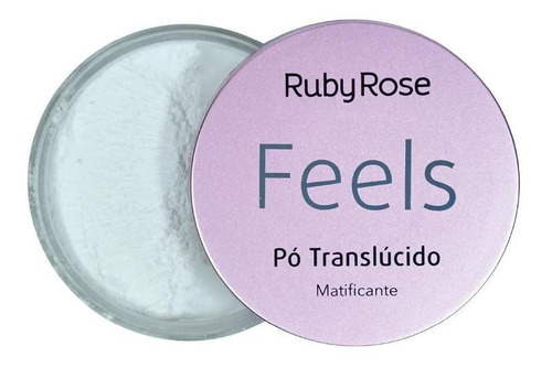 Imagem 1 de 1 de Pó Trnaslúcido Feels Ruby Rose