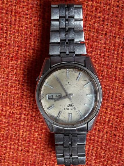 Relógio Antigo Seiko 5 61199 802 Automático Leia A Descrição