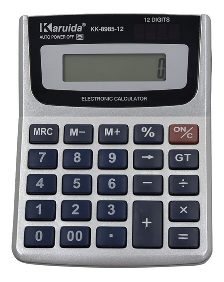 Pack 10 Calculadora Escritorio 12 Dígito Funcion %m+ 8985-12