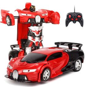 Carro Transformers Robô Controle Remoto Veja Vídeo P/entrega