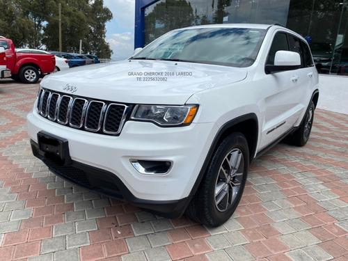 Imagen 1 de 12 de Jeep Grand Cheroke 2018 Laredo V6 Aut Tela Eng $ 103,600