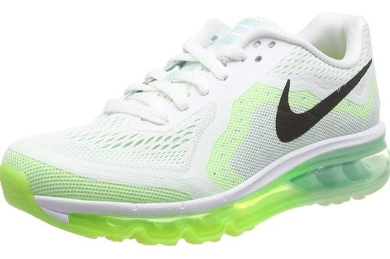 Tênis Nike Air Max 2014 Branco/limão Original