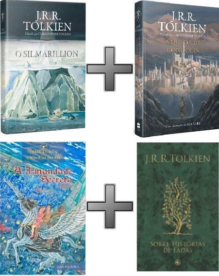 Coleção Tolkien: Silmarillion; Gondolin; Fadas. Brinde Derek