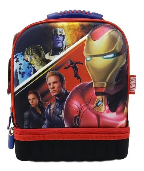 Lonchera Iron Man Vs Thanos Avengers Andgame De Lujo Incluye Accesorios +envio.