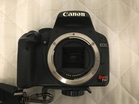 Canon Rebel T1i + Lente Original + Carregador +case +alça
