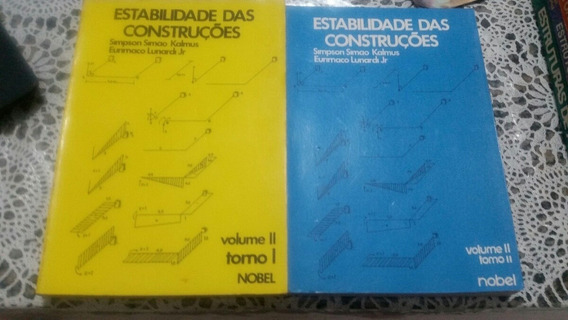 Estabilidade Das Construções-volume 1 E Vol:2