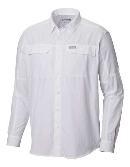 Camisa Silver Ridge2.0 Long Sleeve Shirt Blanco Columbia