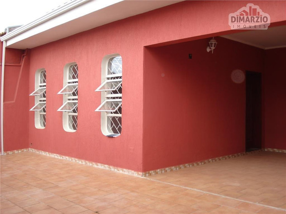 Casa Residencial À Venda, Jardim Paulistano, Americana. - Ca0838