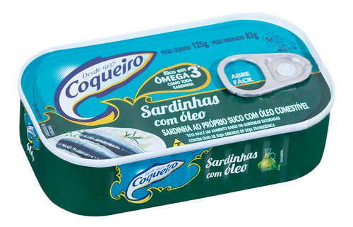 Sardinha Coqueiro 125g